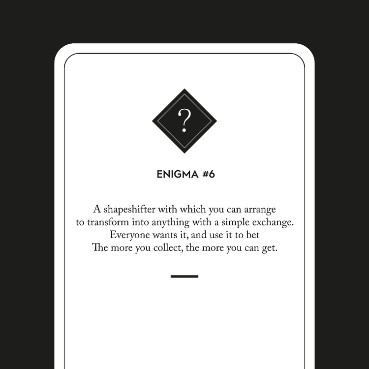 Enigma 6 - riddle, writing, poem - kurtaspaharo | ello