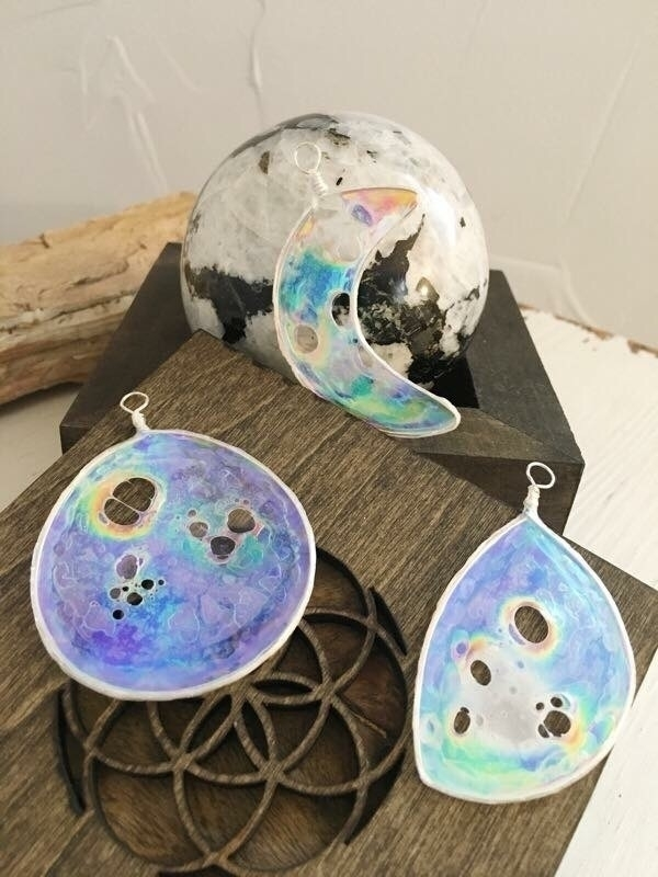 Moon Phase Suncatchers shop Tag - faerieblessings | ello