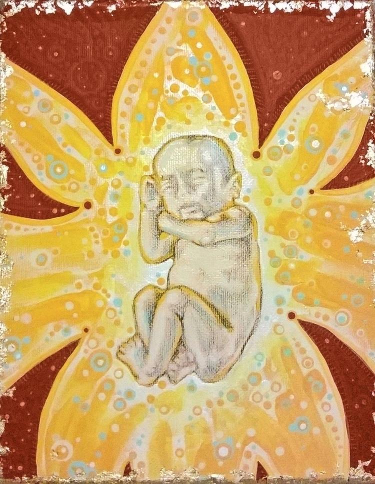 Baby Flower -- (2016) 8 10 mult - micksylvestre   ello