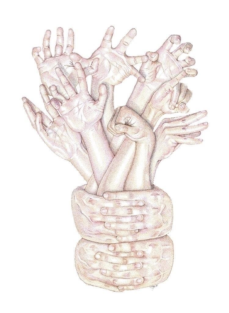 supposed hands?, asked slightly - tjbledsoeillustration | ello