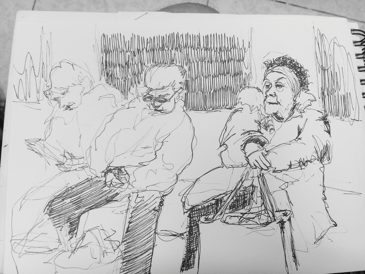 doodling, doodle, travel, subway - cjburgos | ello
