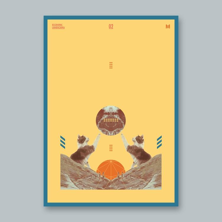 Eccentric Landscapes - 2/3 - poster - mcinen | ello