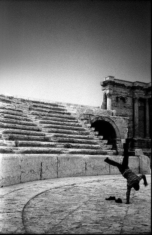 Storm, Palmira theatre , Syria  - tajiko | ello