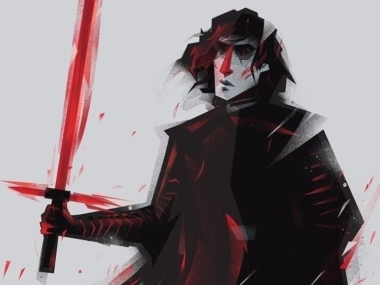 Kylo_Ren Star Wars _character d - malgorzata_wolska | ello