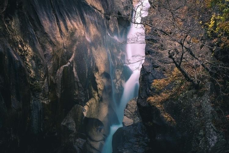 Shyosenkyo Gorge nice waterfall - fokality | ello