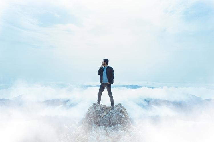 High altitude - portrait, man, standing - alexandermils | ello