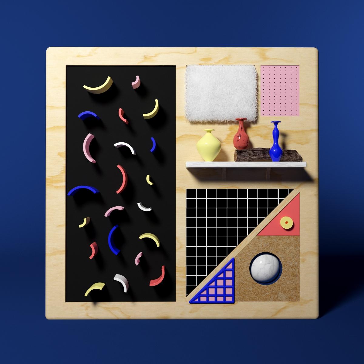 Pattern composition - 3d, c4d, motion - rolandoluther | ello