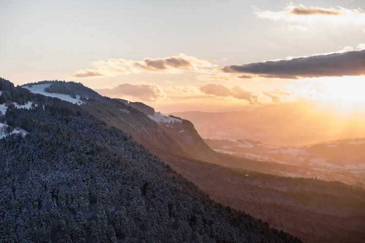 cold winter Mt Salève, Haute-Sa - oliviermiche   ello