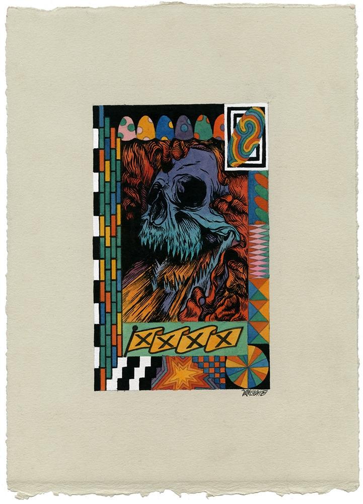 skullstorm Watercolor gouache p - jacobvanloon   ello