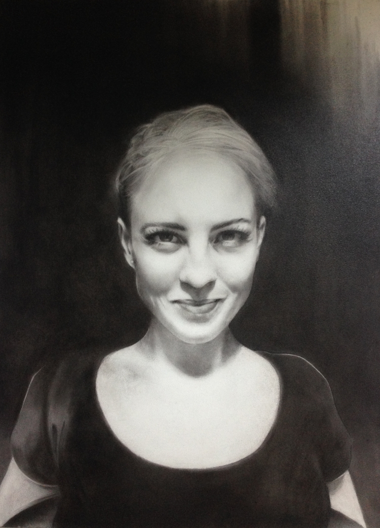 Commission Drawing. Charcoal bo - annabelleheadlam | ello