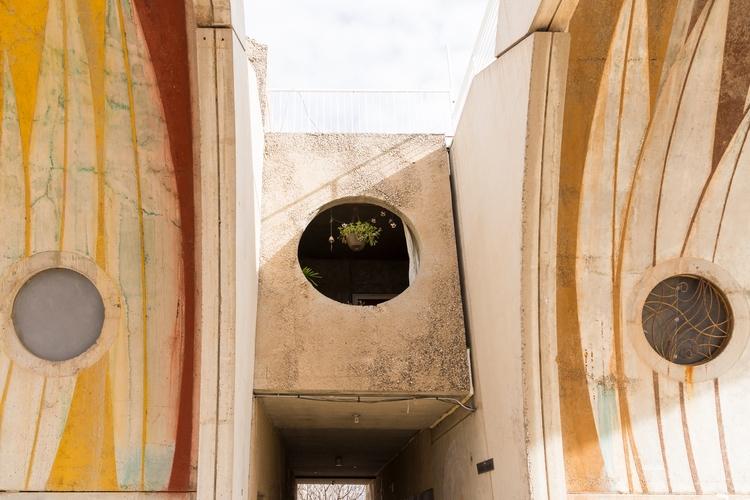 windows plant - arizona, arcosanti - nicoleabulka | ello