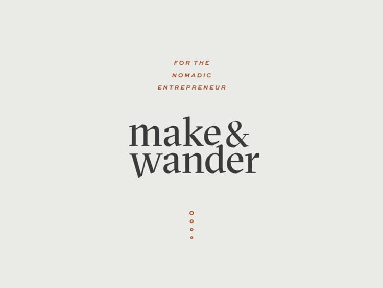 Wander   Part daily logo series - audreyelise   ello