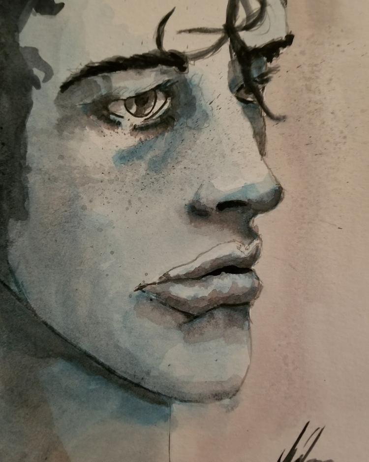 watercolor, watercolorpainting - jasper4 | ello