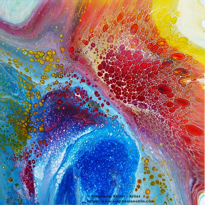 Fluid Art. 24 24 - stephanie_estrin | ello