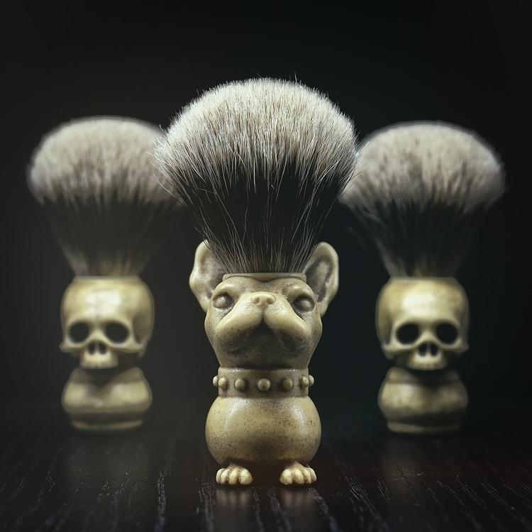 shaving brush hand synthetic iv - gothchic | ello