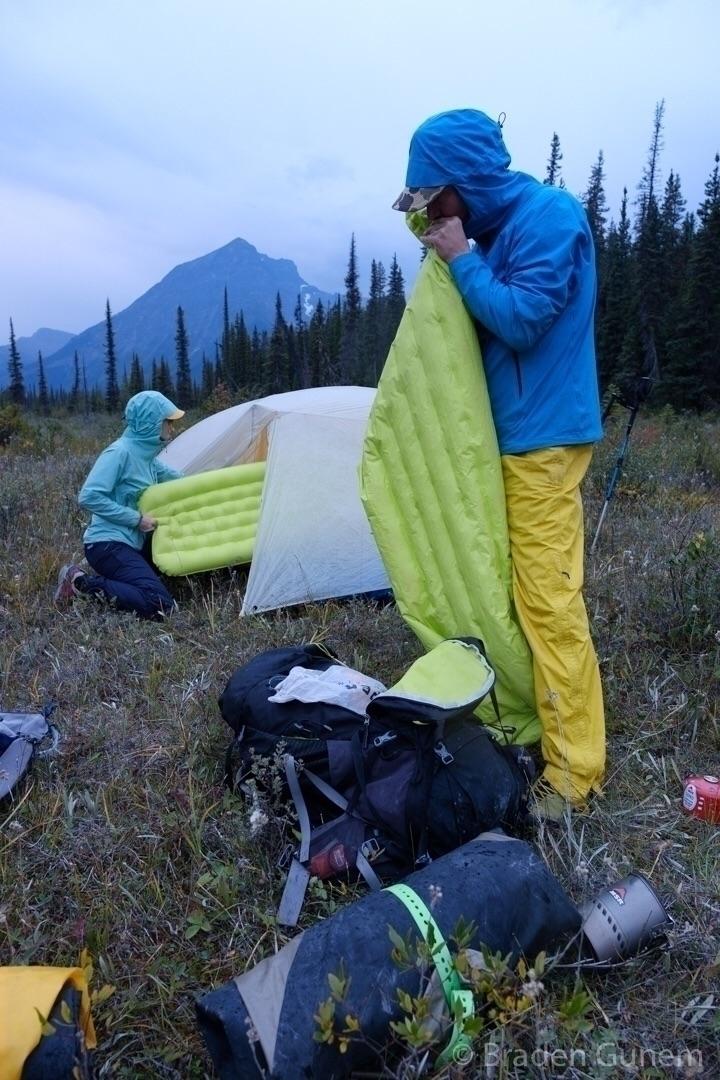 cold camp set Canada - backpacking - bradengunem | ello