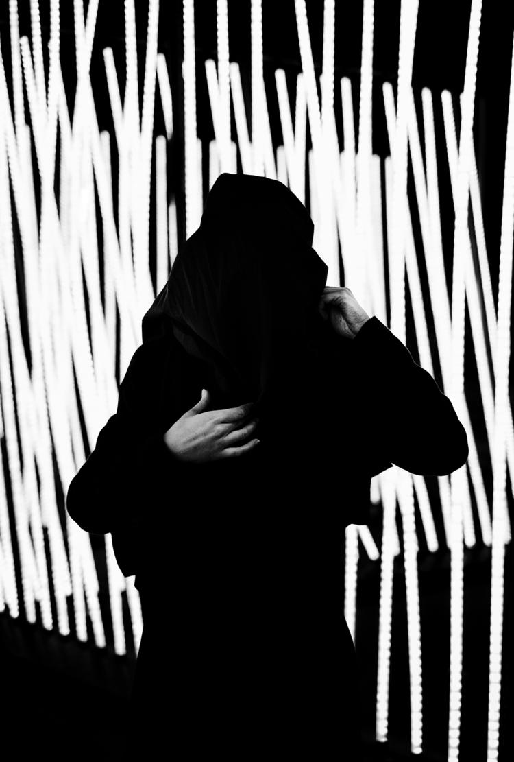 Social anxiety. portrait night  - samuelzeller | ello