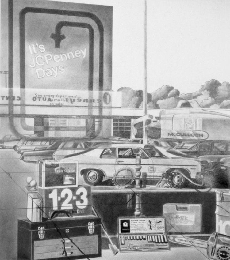 JC Penny Days, graphite Strathm - jannelson | ello