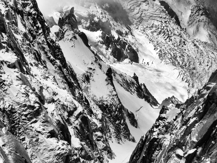 Snowy mountain view Mont Blanc - daphot | ello