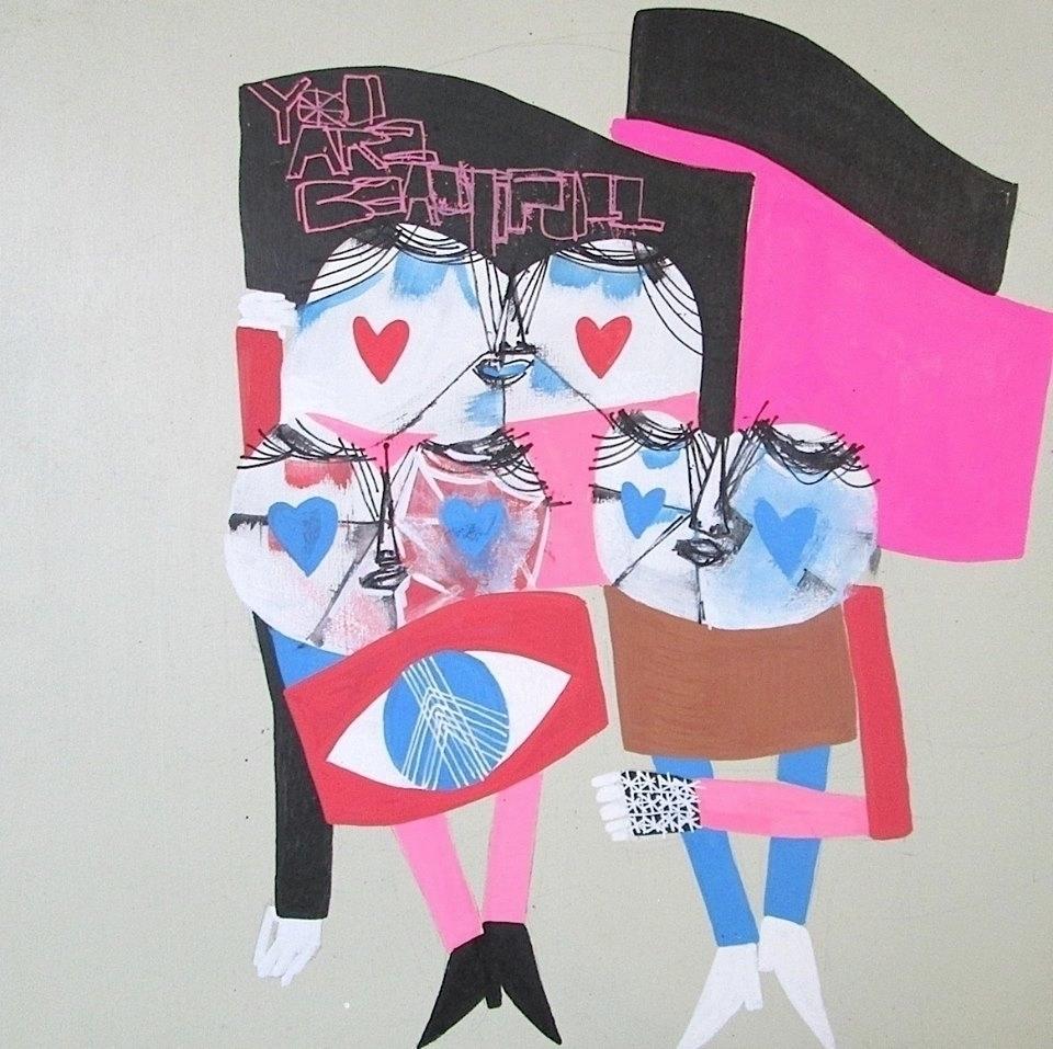 blame Randi Beautiful - acrylic - undianuevo | ello