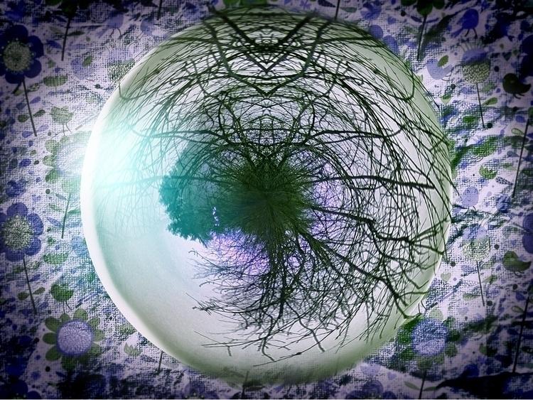 Tree sphere - unart, artoff, humphrynonstop - humphrynonstop | ello