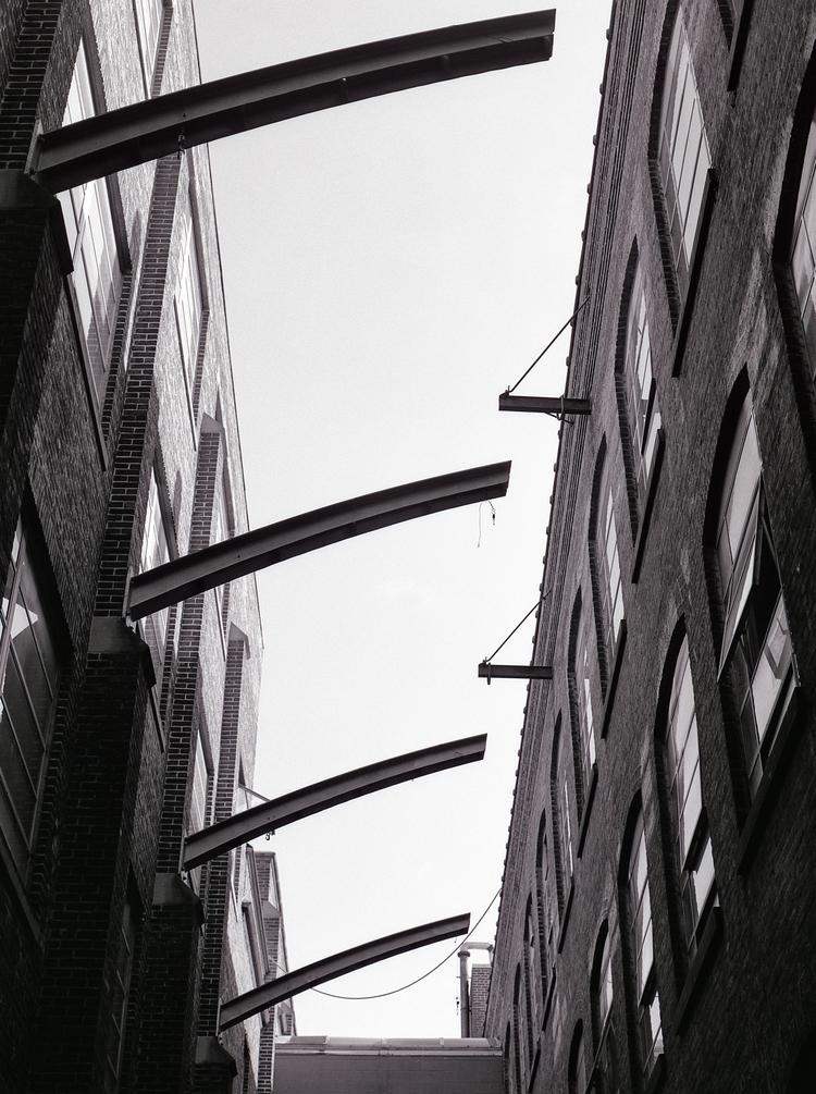 Pulley - BW, architecture, film - ekoshyk | ello