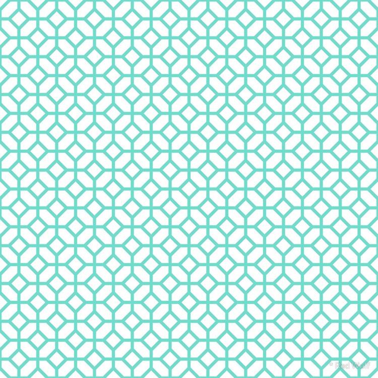 Geometric Pattern: Octagon: Blu - red_wolf | ello
