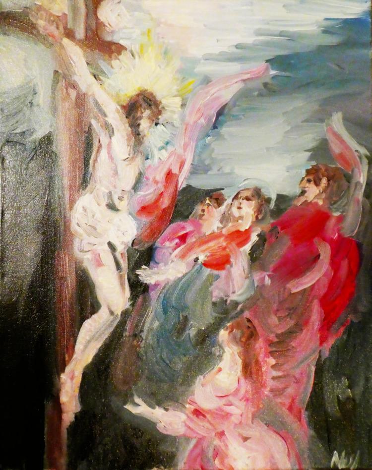crucifixion - electricsky | ello
