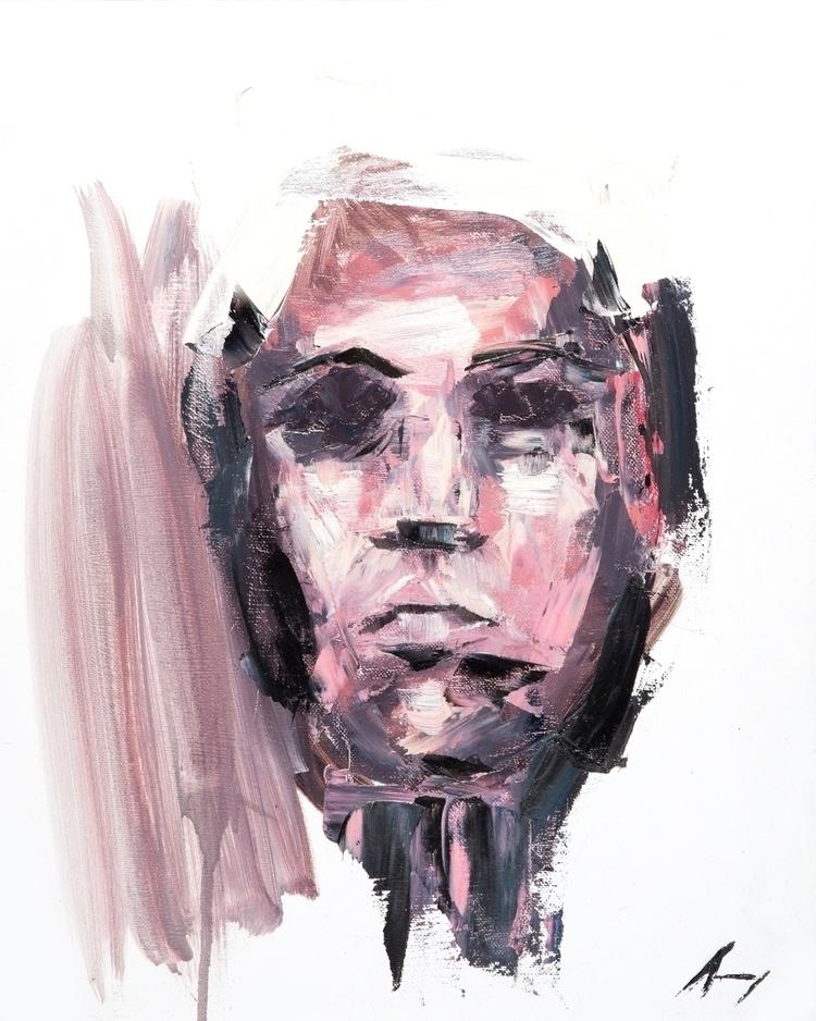 Cogitation - Oil canvas 16 20 - art - brandonsavoy | ello