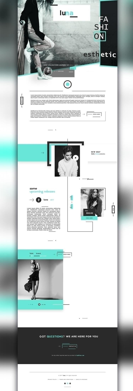 web, ui, ux, ui/ux, concept, design - moonya91 | ello