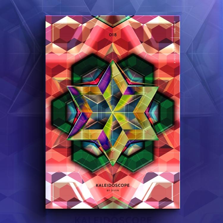 Kaleidoscope - colorful, mandala - divincreador | ello
