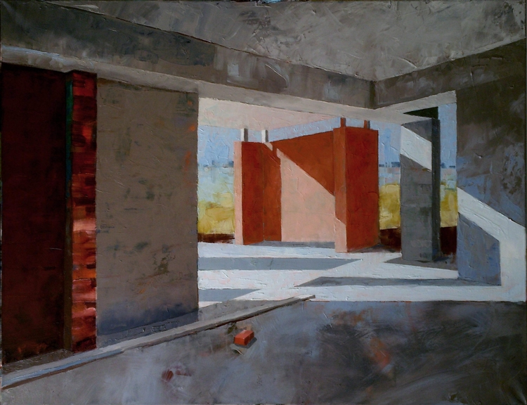 Building Hope Oil Canvas - michaelchomse | ello