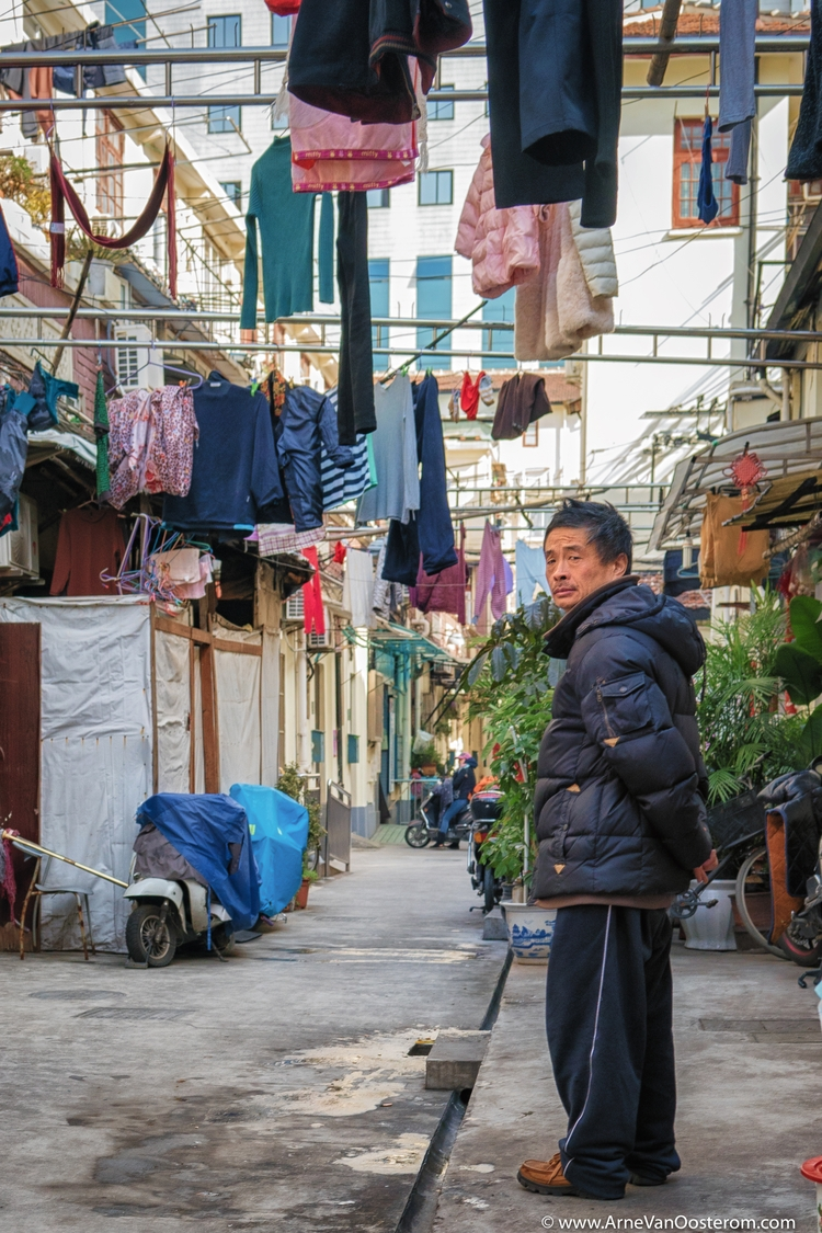 Shanghai Disappearing City - Streetphotography - arnevanoosterom | ello
