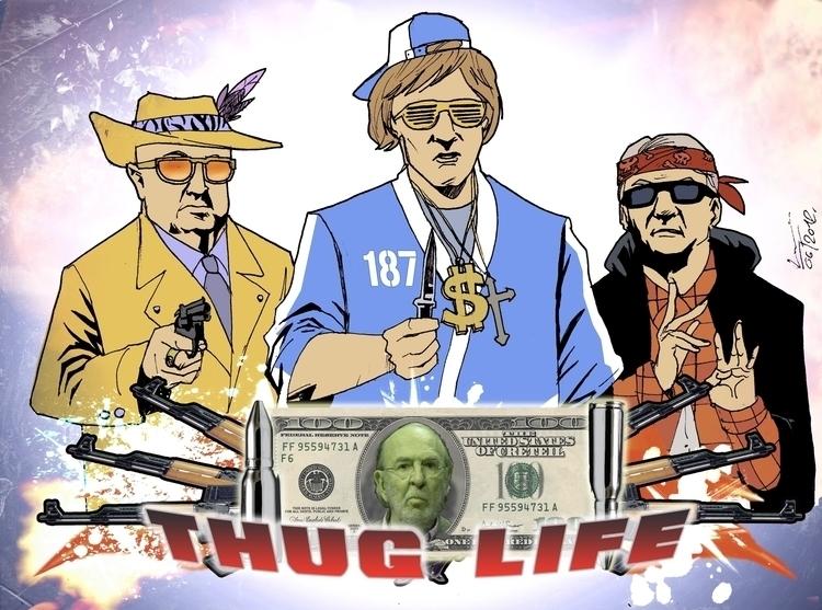 French Thug Life, 2013 - kapalsky | ello