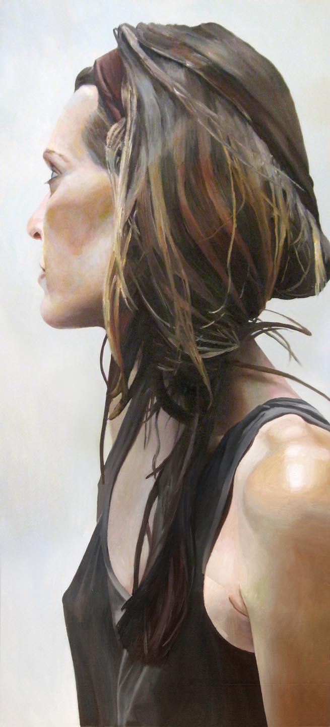 Tangle, oil canvas, 66x30 - thgirw | ello