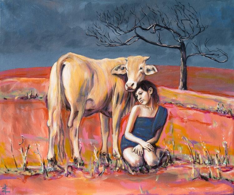 Girl cow - dillysuenos   ello