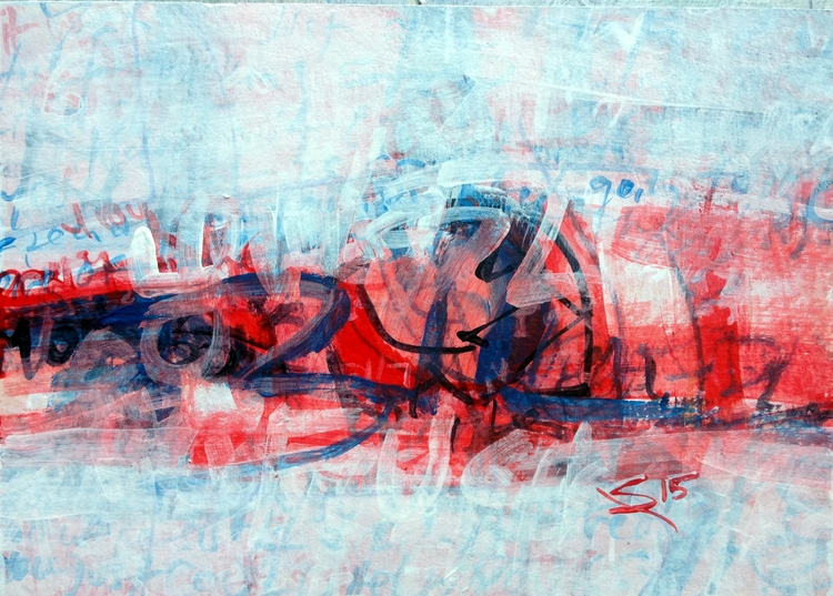 Untitled watercolor acrylic art - chiarascuro | ello