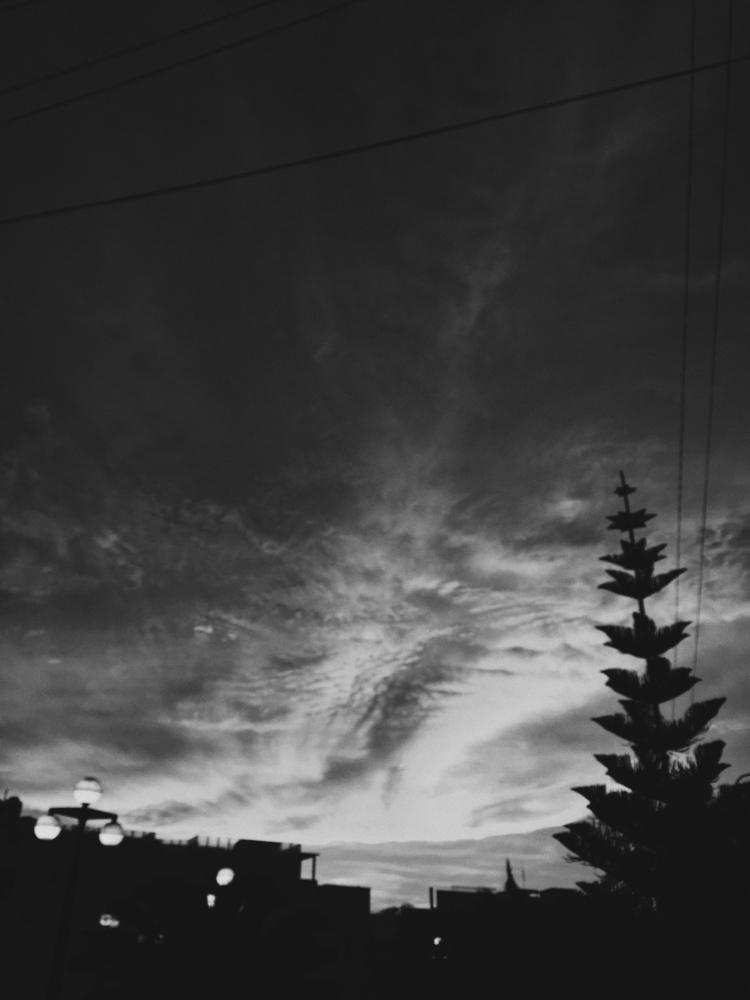 photography, sky, blackandwhite - paulomartinez | ello