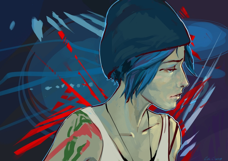 Life Strange - Chloe - LifeIsStrange - ccampbellart | ello
