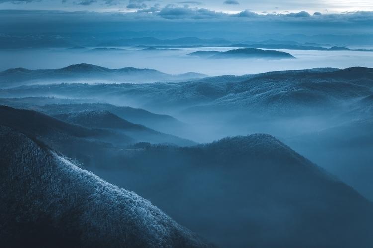 Love winter evenings nature - landscape - dimitrijetanaskovic   ello