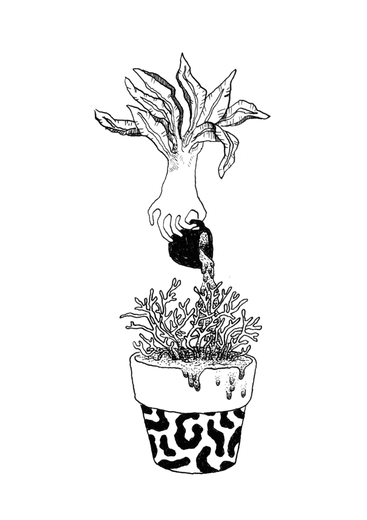 31 states mind / Plant Inktober - ivatori | ello