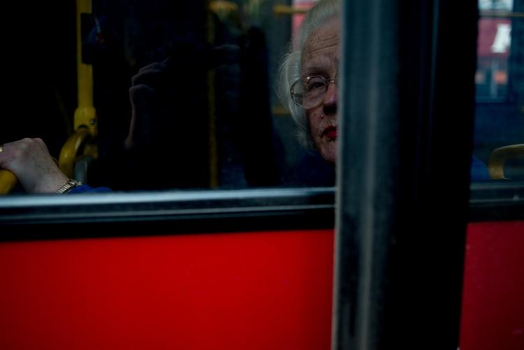 Red Bus, London - fujifilm, red - paulbence | ello