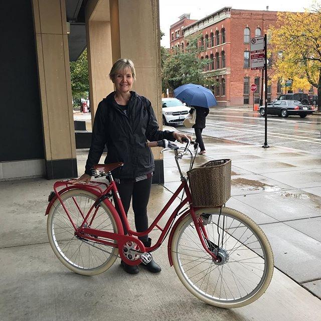 Contenta con su nueva de - biciclasica - avantumbikes | ello