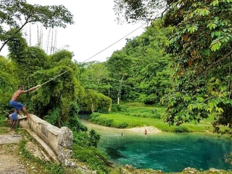 Cascade - Jamaica. - becausemiblackja | ello