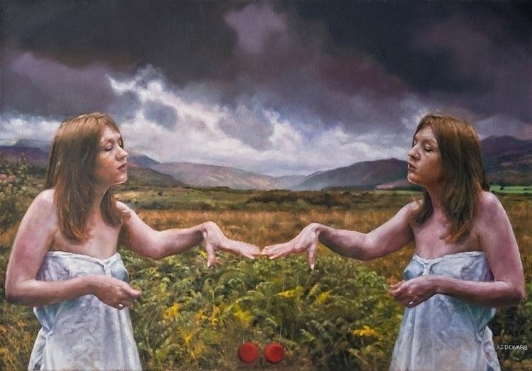 Machrie Moor (Oil Canvas) 2015  - ajdewars | ello