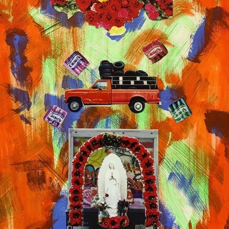Virgencita de La Villita Collag - rebelbetty | ello