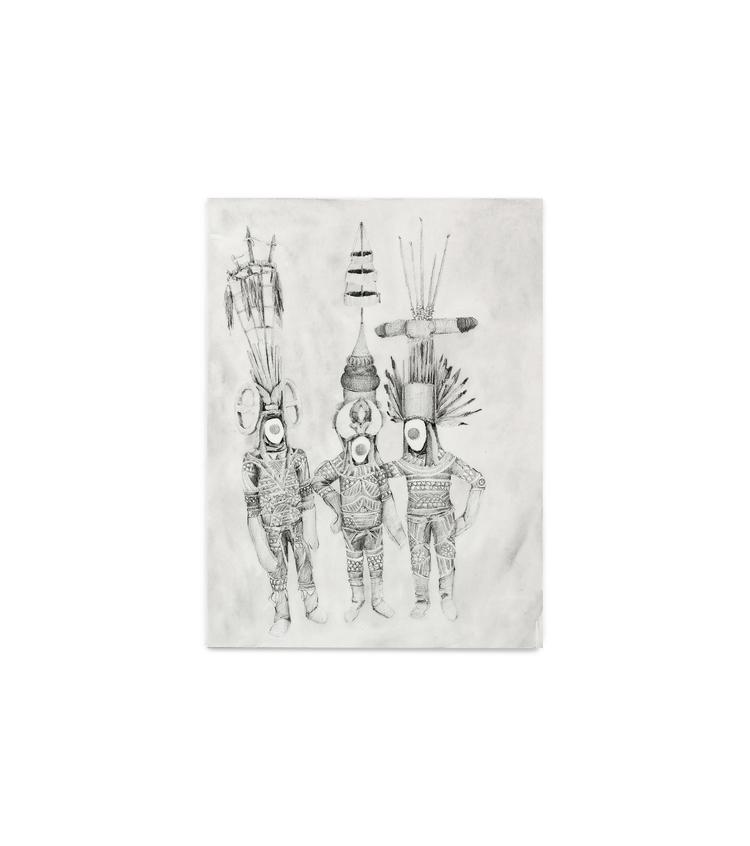 Headdresses - Pencil, watercolo - philippzm | ello