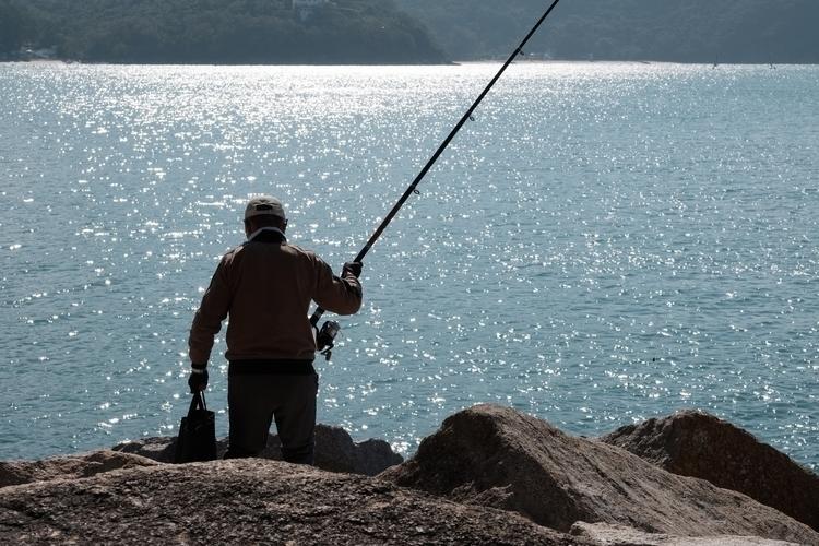 fisherman setting Repulse Bay,  - berryphillips | ello