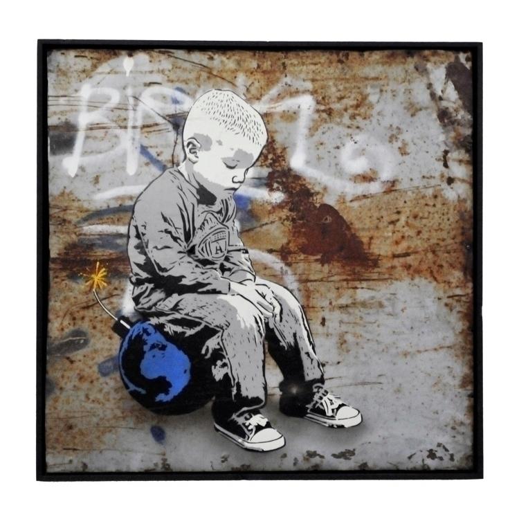 Bomb World | 72,5 71,5 cm ArtFa - alias030 | ello
