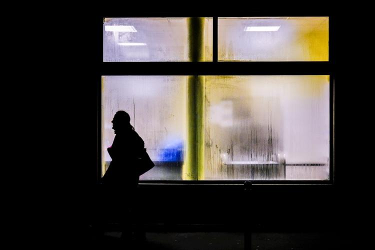 Shadows walkers blurry window  - leabenatar | ello